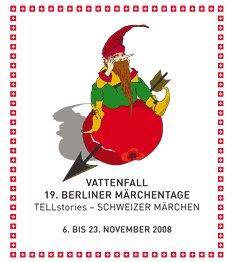 Märchentage 2008 im Hanf Museum Berlin Logo