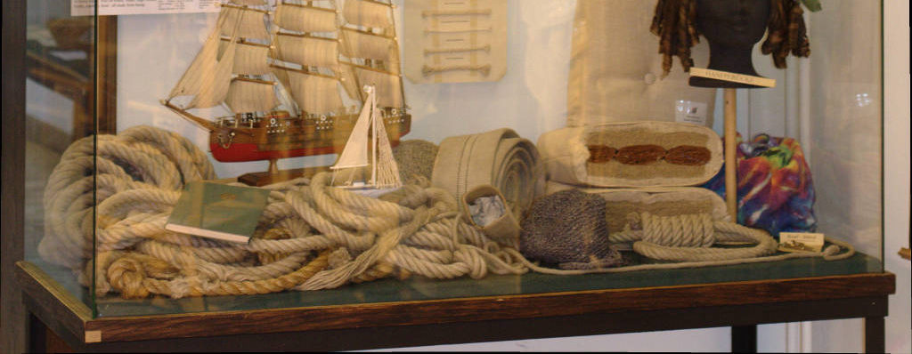 Seile und Seefahrt mit Hanf / Ropes, sails and ships with hemp