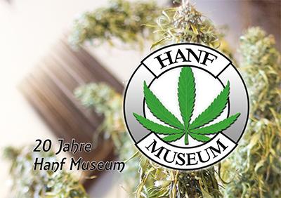 Titelblatt der Chronik 20 Jahre Hanf Museum Berlin - klein