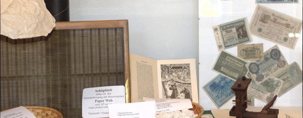 Papier aus Hanf / Paper made from hemp
