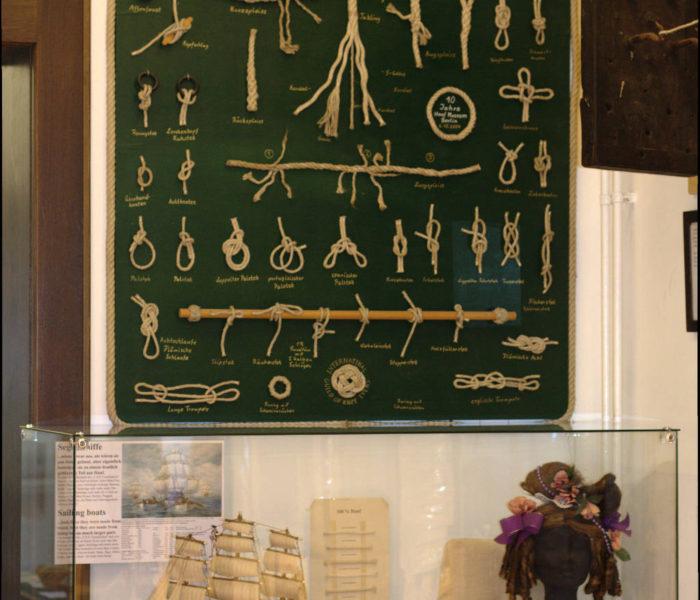 Seile und Seefahrt mit Hanf / Ropes, sails and ships with hemp