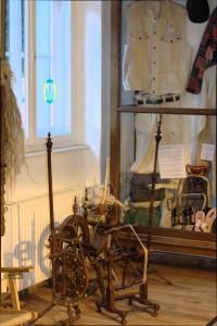 Foto der Hanf für Textilien Ausstellung