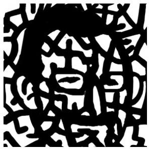 Grafik: Yorgos-Konstantinou im Selbstporträt