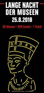 Lange Nacht der Museen am 25. August 2018