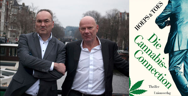 Buch Lesung Hoeps Toes Die Cannabis-Connection